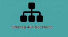wordpress sitemap 404 not found