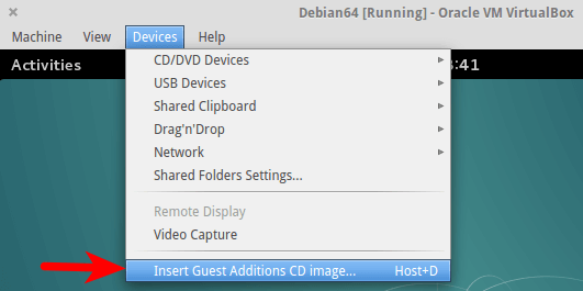 virtualbox guest addition