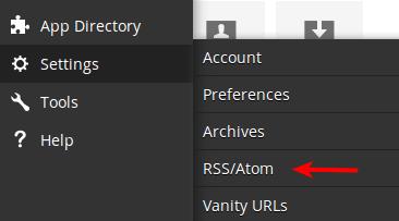 hootsuite RSS/Atom