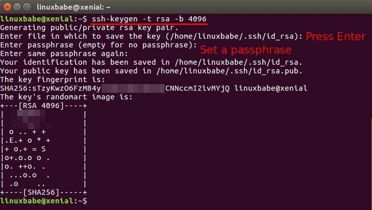 2 Simple Steps to Set up Passwordless SSH Login on Ubuntu