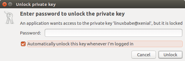ssh private key passphrase