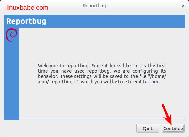 Reportbug
