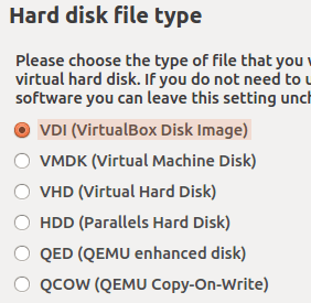 hard drive file type