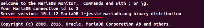 Install MariaDB 10.1 on Debian 8