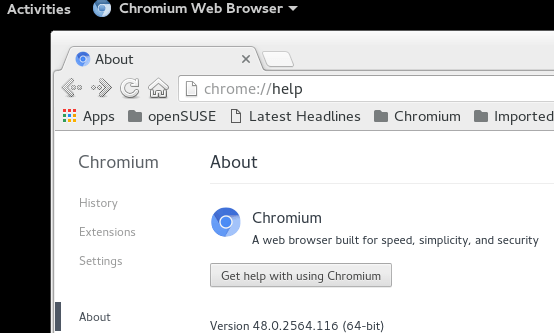 Install Chromium Browser On OpenSUSE