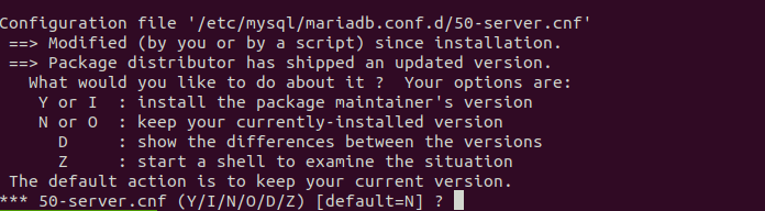 install mariadb 10.5 on Ubuntu 20.04 18.04