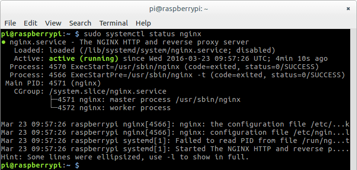 Compile Nginx From Source and Install on Raspbian Jessie