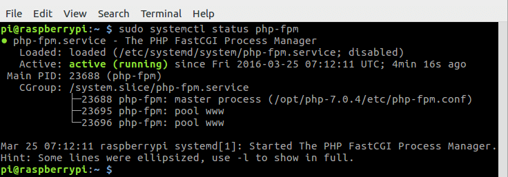 Compile PHP7 From Source on Raspberry Pi
