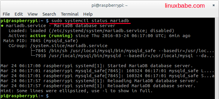Compile MariaDB From Source on Raspbian Jessie