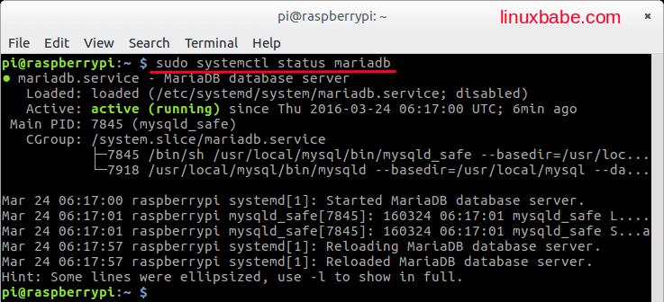 Compile MariaDB From Source on Raspbian Jessie