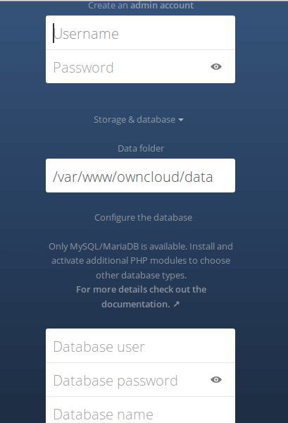 Setup OwnCloud 9 Server with Nginx, MariaDB and PHP7