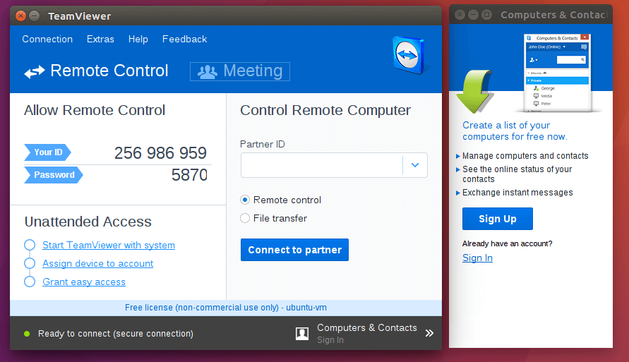 How To Install TeamViewer on Ubuntu 16.04 Xenial Xerus