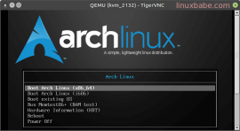 Arch Linux on KVM VPS