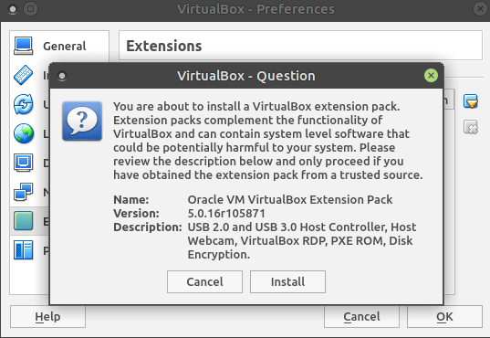 Install Virtualbox on Fedora