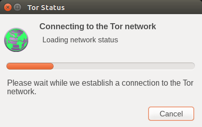 Tor browser connecto to Tor network