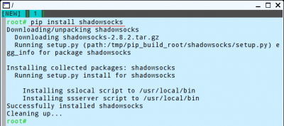 install Shadowsocks on Puppy Linux