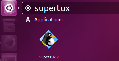 install supertux on Ubuntu 16.04
