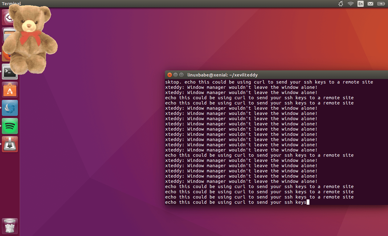 ubuntu snap package x11
