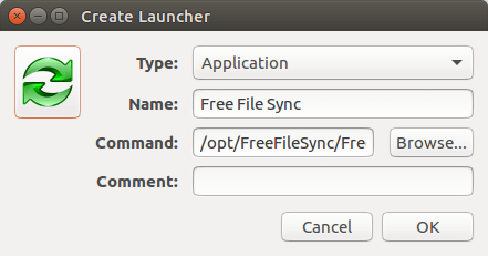 create-launcher-in-ubuntu-16-04