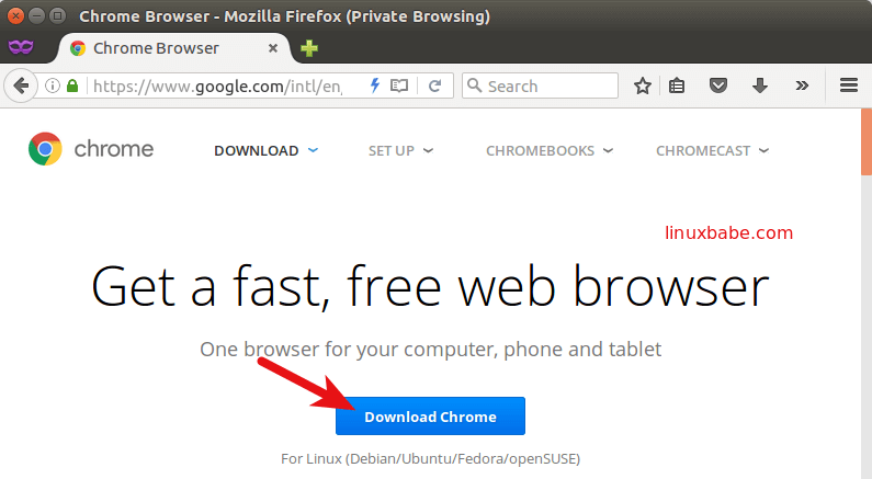 google chrome installer download only