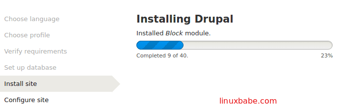 install 40 drupal core modules