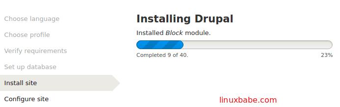 install 40 drupal core modules