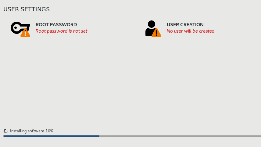 NST user setting