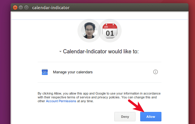 calendar indicator manage your Google calendar