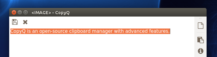 copyq linux clipboard manager