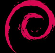 debian swirl logo
