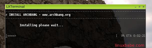 install archbang linux