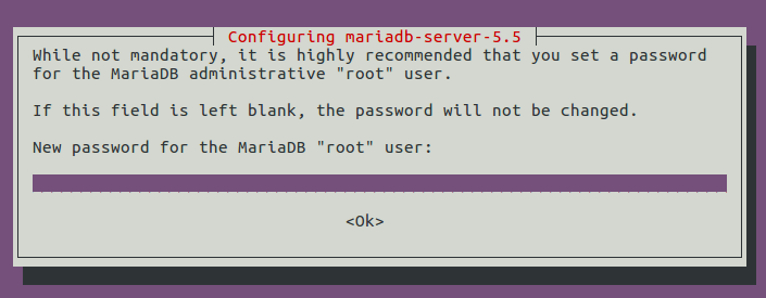 install mariadb server on ubuntu 14.0
