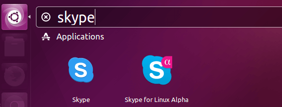 install skype for linux alpha on Ubuntu 16.04