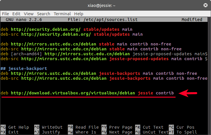 install virtualbox 5.1 on Debian 8 jessie