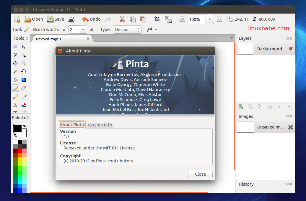 pinta for linux