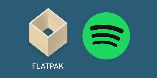spotify flatpak app