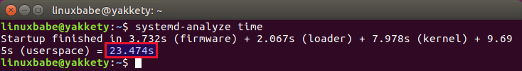 systemd-analyze-boot-time