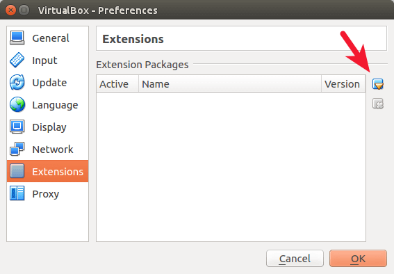virtualbox extensions pack usb 2.0 usb 3.0