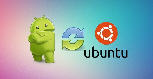 The Easist Way to Transfer Files between Android and Ubuntu