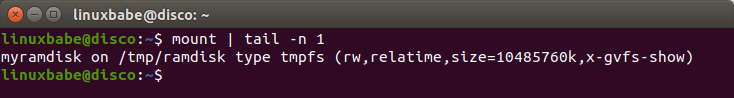 create linux ramdisk