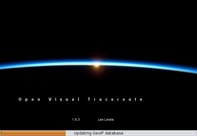 open visual traceroute linux