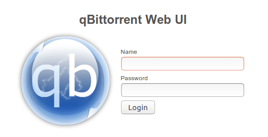 qBittorrent Web UI