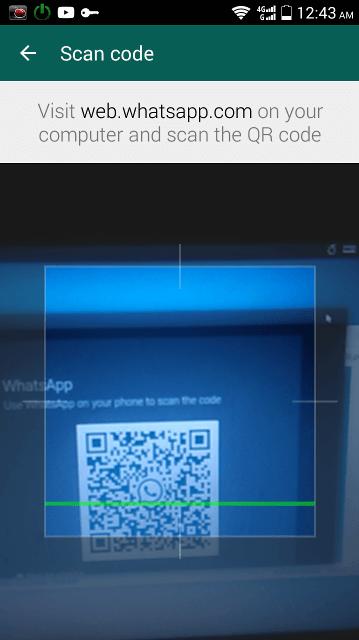 whatsie scan qr code