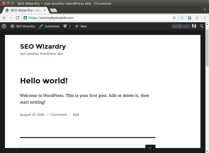 wordpress ubuntu nginx mariadb php7