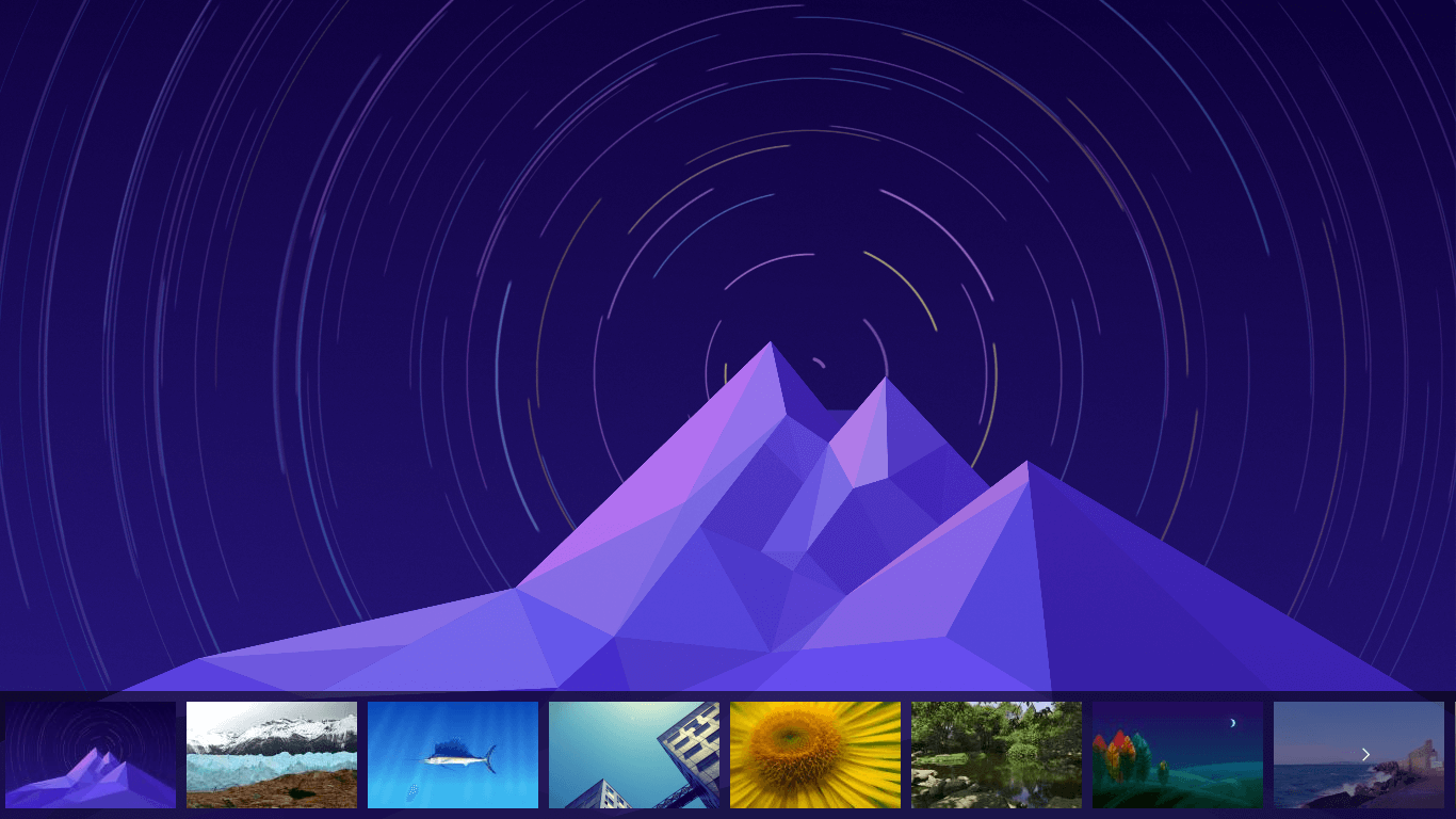 deepin-wallpaper-slider