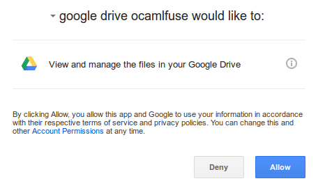 google-drive-ocamlfuse-authentication