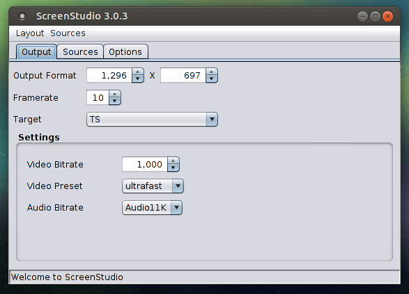 install screenstudio on ubuntu 16.04