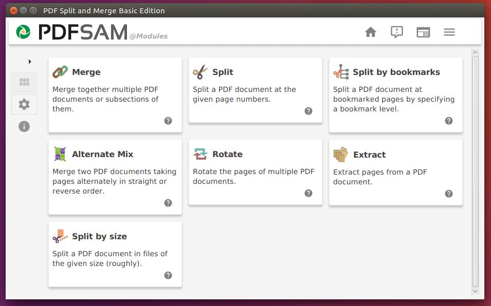pdfsam basic ubuntu-16-04