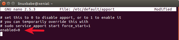 ubuntu-disable-error-popup