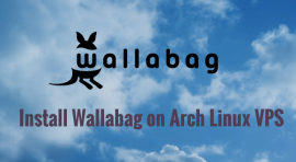 install wallabag on Arch Linux